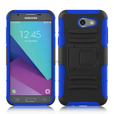 Shockproof Clip Kickstand Phone Case Cover For Samsung Galaxy J3 Emerge/ J3 2017