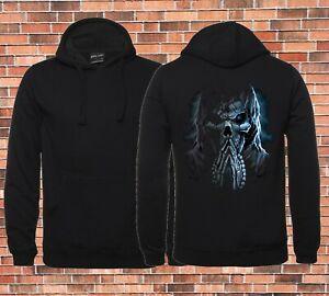 Praying Reaper Design Jbs Black Hoodie sizes to up to Big Mens 9XL