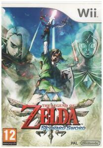 The Legend of Zelda: Skyward Sword (Nintendo Wii) CASE & BOOKLET ONLY, NO DISC