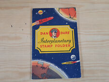 DAN DARE INTERPLANETARY STAMP FOLDER - 1953 - completely unused!