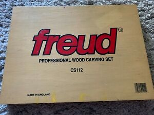 Freud Professional Woodworking Carving Tool 12 Piece Set CS112 Made England