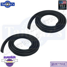 1999-2004 Jeep Grand Cherokee Rear Door Weatherstrip Seals PAIR Metro USA MADE