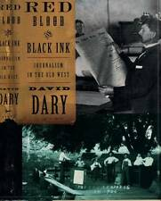 WESTERN AMERICANA RED BLOOD BLACK INK DAVID DARY H/C D/J 1998