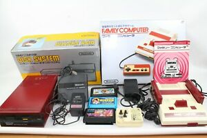 Nintendo Famicom NES Console HVC-001 box Disk system please read JAPAN
