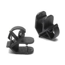 5x Plastic Black Bonnet Stay Hook Rod Clips for Classic Ford Escort Sierra Capri