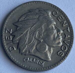 Colombia 10 Centavos 1954 B (KM#212)