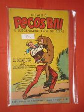 PECOS BILL-GLI ALBI-LIBRETTO MONDADORI-FASANI-N° 32-D-1961 + DISPONIBILI ALTRI N