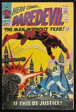 DAREDEVIL 1966 #14 SHARP FN+  PLUNDERER,EARLY KA-ZAR APPEARANCE 3 PART STORY
