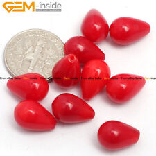 Half Drilled Coral Beads Flower Rose Beads For Jewelry Making Wholesale Earring