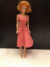 Original 1958 Midge Barbie,Redhead Doll, 11 1/2 Inch - Very Good Condition