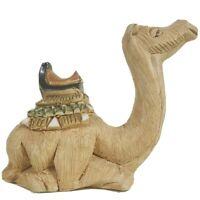 Antique Sitting Camel Figurine- Hand crafted, heavy  8oz.  Origin in details.