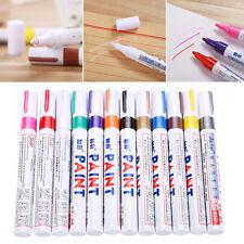 12pcs 12 Colors Waterproof Rubber Permanent Paint Marker Pen Car Tyre Tread Pens