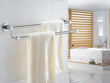 Bathroom Accessory SUS304Towel Bar Rack Shelf Hanger Heavy-duty Wall mounted New