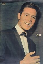 CLIFF RICHARD - POSTER FROM DUTCH MAGAZINE MUZIEK EXPRES 1964