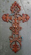 Cast Iron Cross Wall Hanging