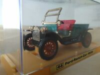 Antigua miniatura Ziss RW #44 Ford Ranch Car de 1909. Escala 1:43 R.W.-Modell.