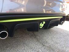 Badge Logo Scorpione Abarth White-Easy Fix Diffusore Fiat 500 Abarth 595