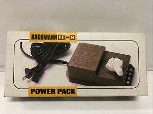 BRAND NEW BACHMANN HO & N SCALE 6607 TRANSFORMER POWER PACK MINT
