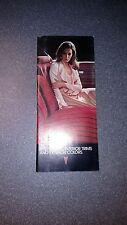 1975 Pontiac Colors & Interiors Brochure Firebird GTO Lemans Catalina
