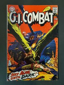 G.I. COMBAT #125 4.0 VG UNPRESSED  DC SILVER AGE WAR COMIC