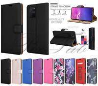 Pour Samsung Galaxy S10 Lite Étui, Slim Magnétique Flip Cuir Portefeuille Housse