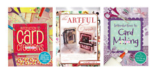THE ART OF MAKING BEAUTIFUL HANDMADE GIFT CARDS 3 x CRAFT BOOKS - NEW