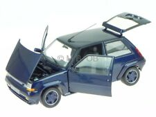 Renault 5 R5 Supercinq GT Turbo 1989 blau Modellauto 185205 Norev 1:18