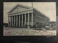 1908 Guatemala Real Picture Postcard RPPC Cover National Theater To Usa