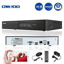 OWSOO 4CH 1080P H.264 IP P2P CLOUD NETWORK NVR DIGITAL VIDEO RECORDER ONVIF PTZ