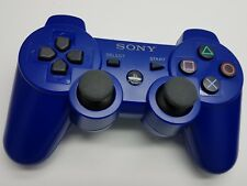 Genuine Official Sony Playstation 3 PS3 Dual Shock 3 Wireless Controller Blue