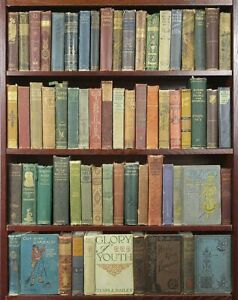 Lot of 10 Old Antique Vintage Rare Books Mixed and varied colors - Hardcover