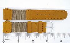 Watchband Kreisler sport calfskin nylon regular various colors and sizes