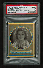 PSA 5  SHIRLEY TEMPLE  1937 Brinkmann Cigarette Card #496  Beautiful