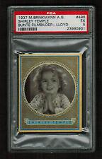 PSA 5  SHIRLEY TEMPLE  1937 Brinkmann Cigarette Card #496  Beautiful