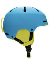 Retrospec Traverse H3 Youth Ski & Snowboard Helmet, Matte Sky Blue & Yellow Xsm