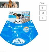 All for Paws Chill Out Ice Bandana Keep Dog Puppy Cool Small , Med, Lrge, XLarge