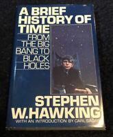 Stephen W. Hawking 'A BRIEF HISTORY OF TIME' A Bantam Book / April 1988 HC/DJ