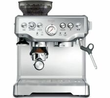 Sage Barista Express Bean to Cup Espresso Coffee Machine, Stainless Steel