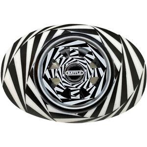 Battle Sports Science Kaleidoscope Spinner Oxygen Mouthguard - Black/White