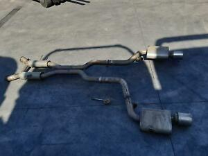 JEEP GRAND CHEROKEE EXHAUST SYSTEM WK, 01/11- 11 12 13 14 15 16 17 18 19 20