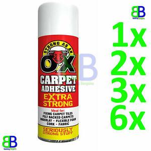SAAO Heavy Duty Spray Adhesive Glue for Foam Carpet Card Craft Fabric 500ml New
