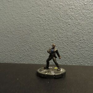 Heroclix Marvel Sinister NICK FURY Unique Silver Ring Figure Near Mint