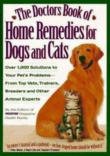 Doctors Book of HOME REMEDIES for DOGS & CATS - DIY Expert Pet Care Advice