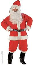 L Mens Santa Costume for Father Christmas Fancy Dress Outfit Large 1size Adults
