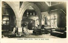 Hall & Ingle Nook, Furness Abbey Hotel, Barrow in Furness, UK RPPC