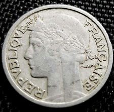 1947 France ( Francaise)  2 Francs coin  (+FREE 1 coin) #D5392