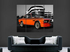 BMW E9 Classique Voiture Mur Poster Art Photo Impression Grand énorme