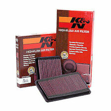 K&N Air Filter For Ford Fiesta MK6 1.0 EcoBoost Petrol 2012 - 2015 - 33-2955