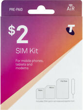 Telstra Australian Pre-Paid Sim Card Regular Micro Nano 3G 4G Lte Australia