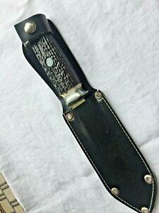 Mikov Jagdmesser Taschenmesser mit Lederscheide